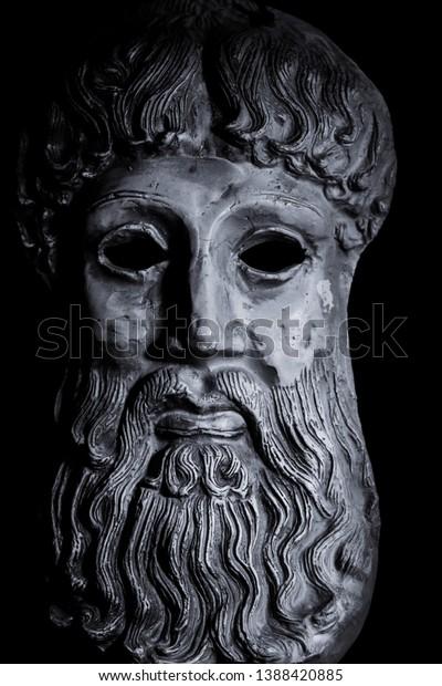 Picture Poseidon God Sea Stock Photo Edit Now 1388420885