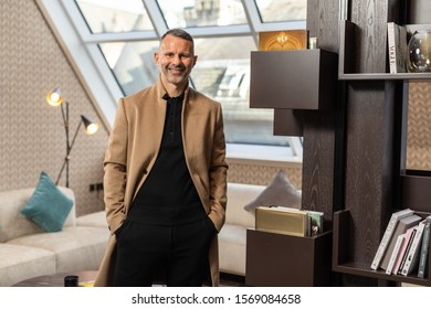 Picture of Ryan Giggs in the penthouse apartment at Stock Exchange Hotel, Manchester.Pic copyright Phil Tragen 2019
