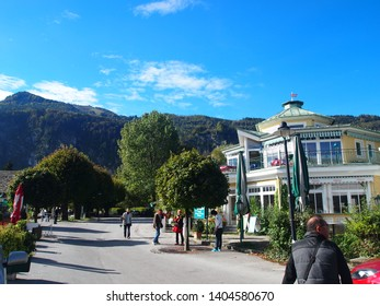 A picture of Salzkammergut, Austria, on October 10, 2012.