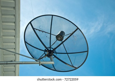 picture of the satellite dish