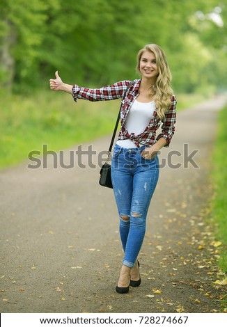 blue plaid shirt with jeans