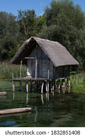 A picture of the Stilt Houses at Lake Constanz
