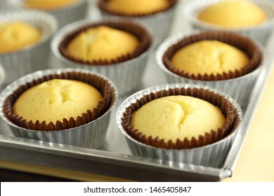 The picture of sweet cupcake.