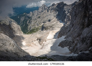 Picture taken during Zugspitze ascent in July 2020.