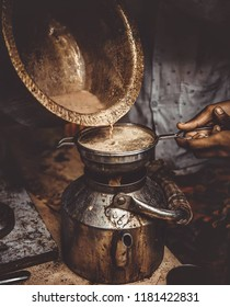 Picture of tea pouring.Tea is an aromatic beverage commonly prepared by pouring hot or boiling water over cured leaves of the Camellia sinensis, an evergreen shrub (bush) native to Asia.