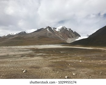picture view of cloudy hill and cloudy sky and open ground
