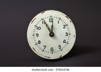 Picture of  Vintage alarm clock. Time concept