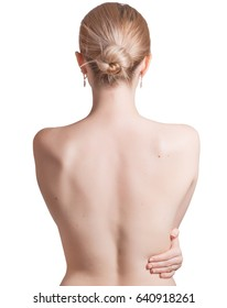 Picture of woman from the back.