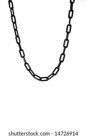 pictures of a chain over a white background
