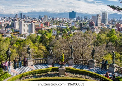 Pictures taken in Mexico City