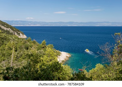 Picturesque bay on the Adriatic