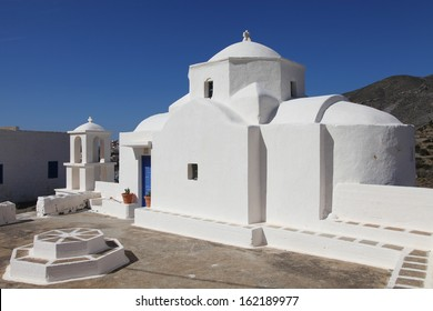 picturesque chapel on the island of Karpathos, Greece