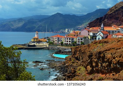 the picturesque coast of Madeira Island