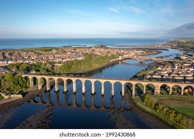 The Picturesque Coastal Town of Berwick upon Tweed in the UK