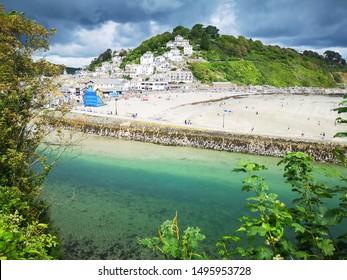 The picturesque Cornish tourist resort of Looe