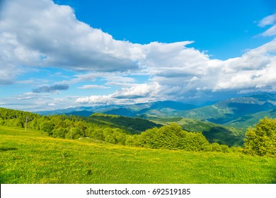 Picturesque Komovi Mountains are located in the east of Montenegro.