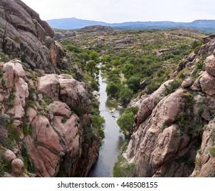 Picturesque landscape in Capilla del Monte, Argentina, South America