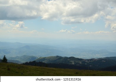 Picturesque landscape of Kopaonik mountain, Serbia, in summer
