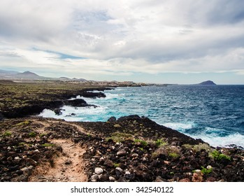 Picturesque nature of Tenerife. Canary Islands. Spain