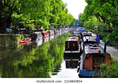 Canal Barge Images, Stock Photos & Vectors | Shutterstock