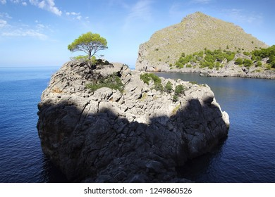 Picturesque sea landscape with bay. Mallorca, Balearic Islands in Spain