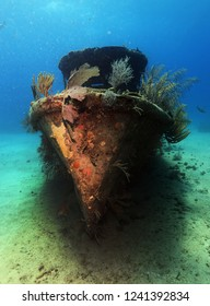 A picturesque ship wreck