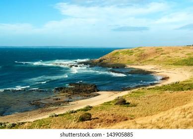 Picturesque shores of Phillip Island, Australia
