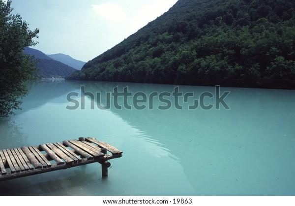 Picturesque Soca River Slovenia