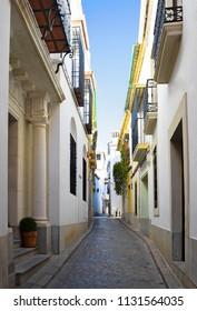 Picturesque Street in Cordoba, Spain