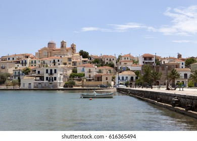 The picturesque town of Galaxidi, Phocis, Greece