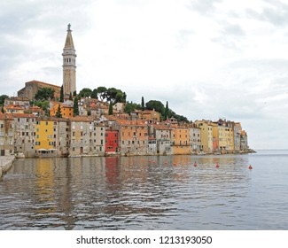 Picturesque Town Rovinj in Istria Croatia