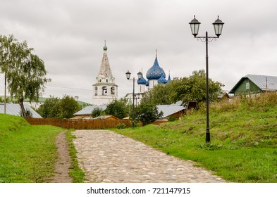 Picturesque view of the Suzdal Kremlin, Russia. Golden Ring Of Russia