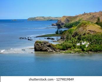 Picturesque view of Umatac Bay, Guam, United States
