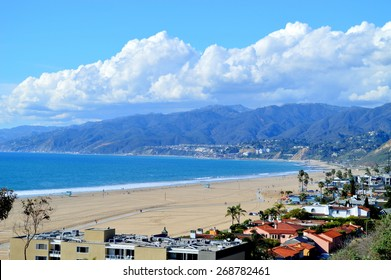 Picturesque views of the Santa Monica Bay.
