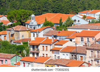 The picturesque village of Agiasos is located at the southern part of Lesvos island and it's famous for the picturesque buildings traditional churches and paved narrow streets