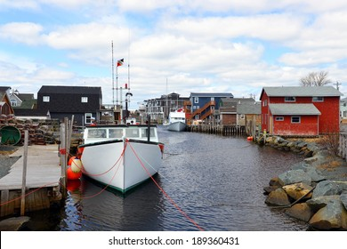 The picturesque village of Eastern Passage, just outside Halifax, Nova Scotia