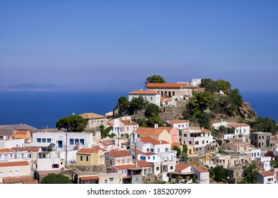 The picturesque village of Kea island, Cyclades, Greece