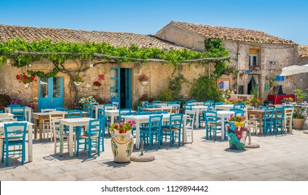 The picturesque village of Marzamemi, in the province of Syracuse, Sicily.
