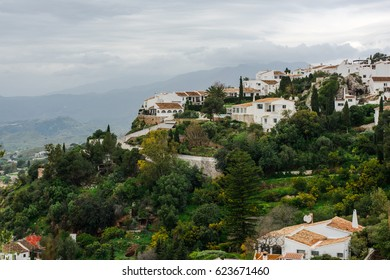 Picturesque village of Mijas in Andalucia,Spain