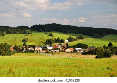 picturesque village in the south bohemian