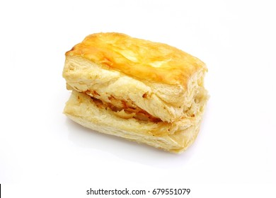 Pie isolated on white background.