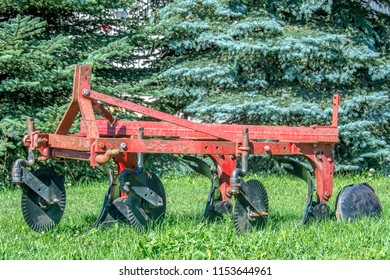 Old Farm Plows Images Stock Photos Vectors Shutterstock