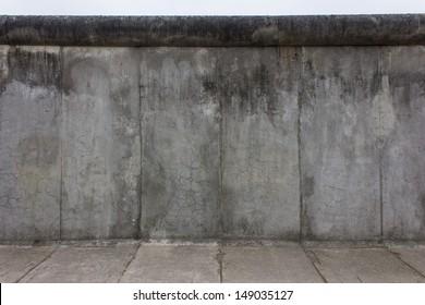 Piece of the Berlin Wall of the East Berlin side