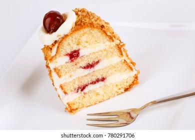 A piece of Frankfurt Crown Cake