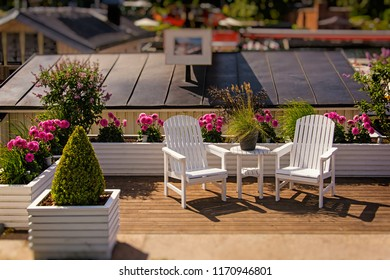 A piece of garden on a board. Place for relax. Lykke in Stockholm, Sweden