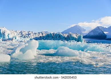Piece of glacier