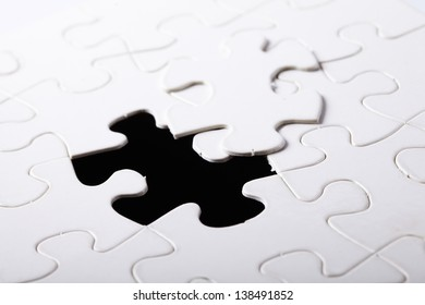 piece of jigsaw puzzle