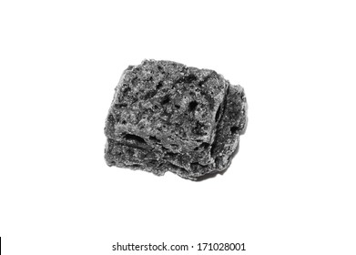 Piece of soft coal as the concept of the Feast of Epiphany