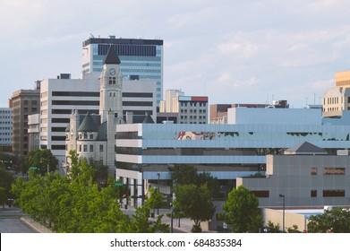 Piece of Wichita Skyline