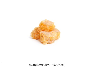 pieces of frankincense on white